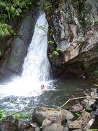 Wasserfall - Dusche