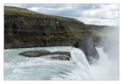 "Wasserfall ""Gullfoss"" - Island"