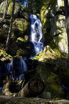 Wasserfall im Erzgebirge die 2te