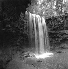 Wasserfall im Hörschbachtal