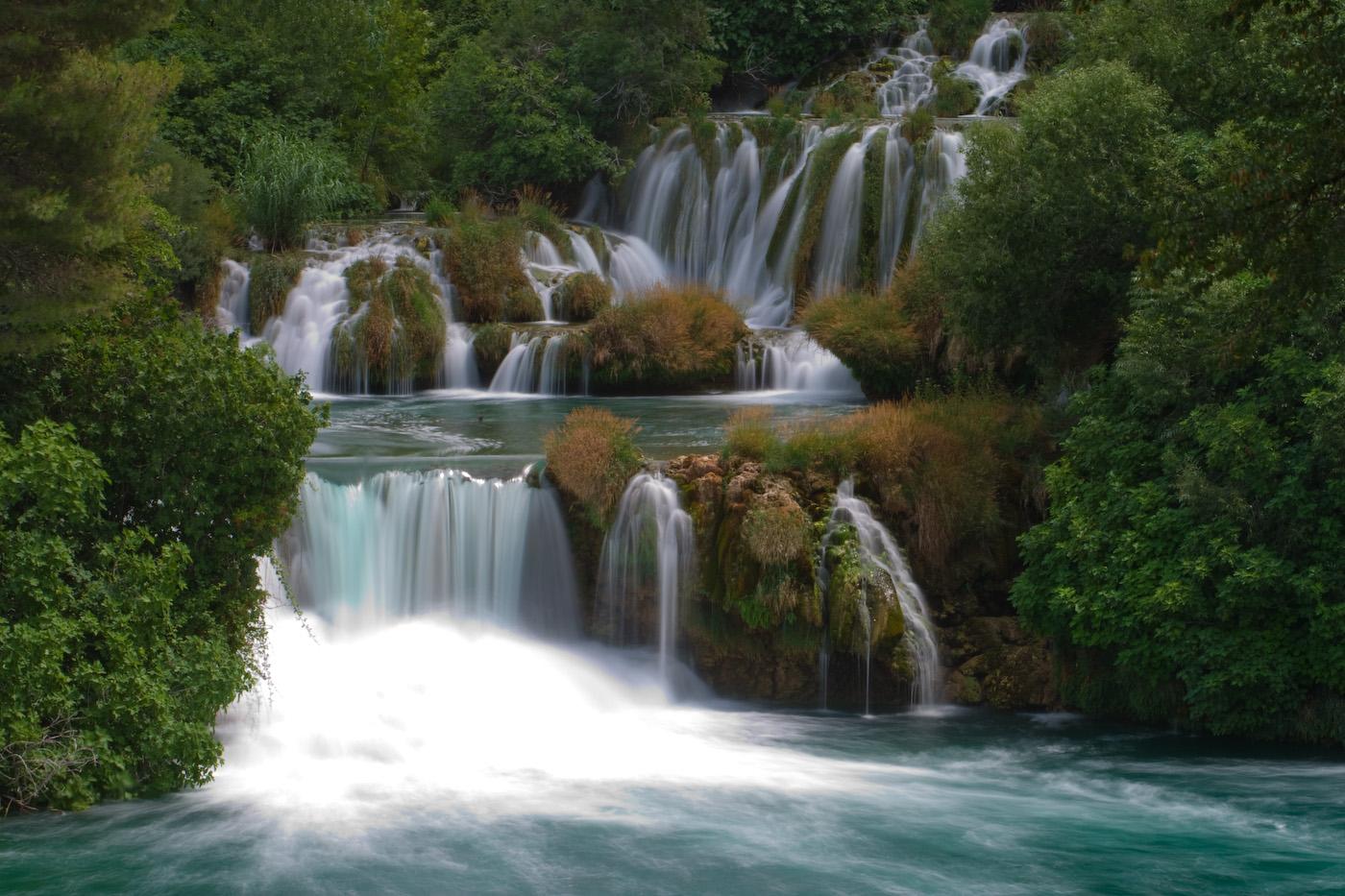 Pula Kroatien Wasserfall
