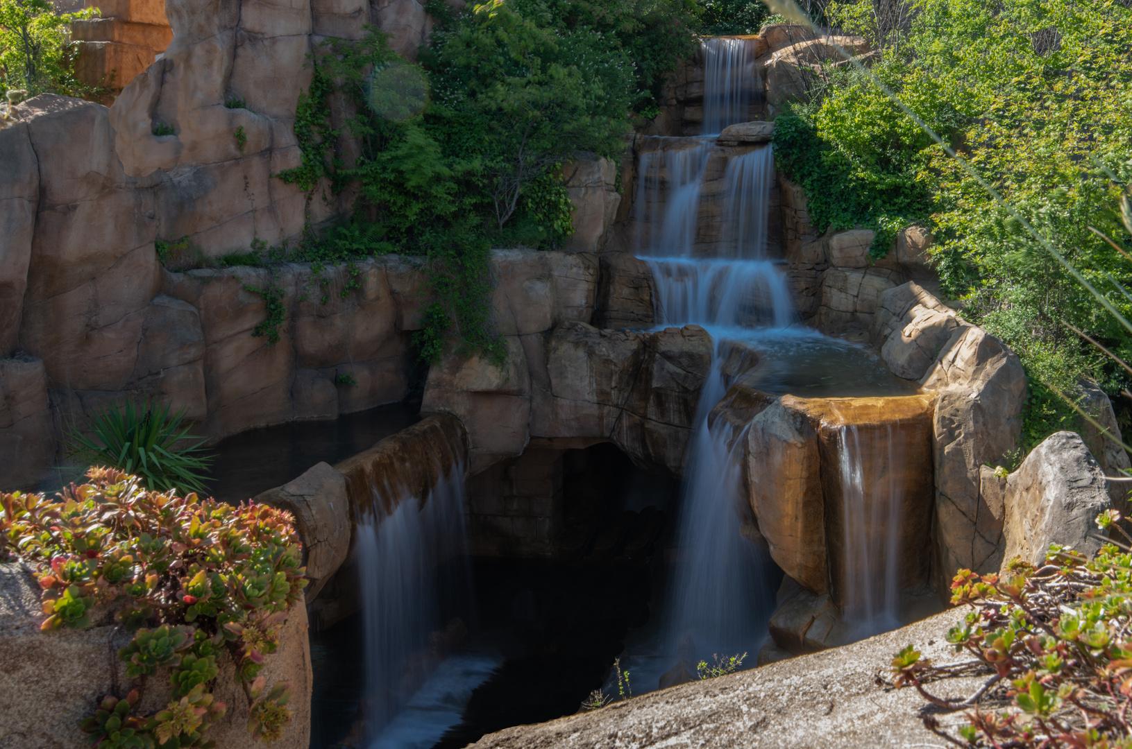 Wasserfall im Pantasialand