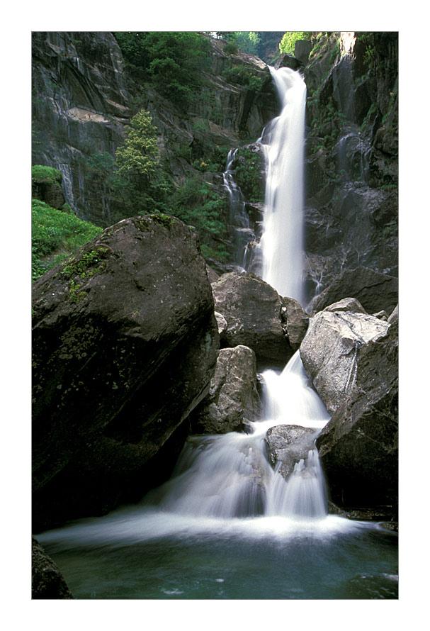 Wasserfall im Passeier-Tal