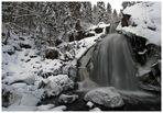 Wasserfall im Winter (Triberg Schwarzwald))