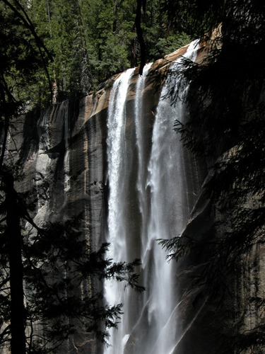 Wasserfall im Yosemite National Park