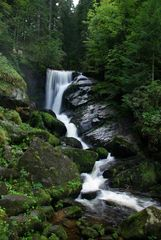 Wasserfall in Aktion