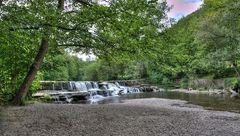 Wasserfall in Bad Blankenburg