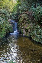 Wasserfall in Baden Baden Gerolsau