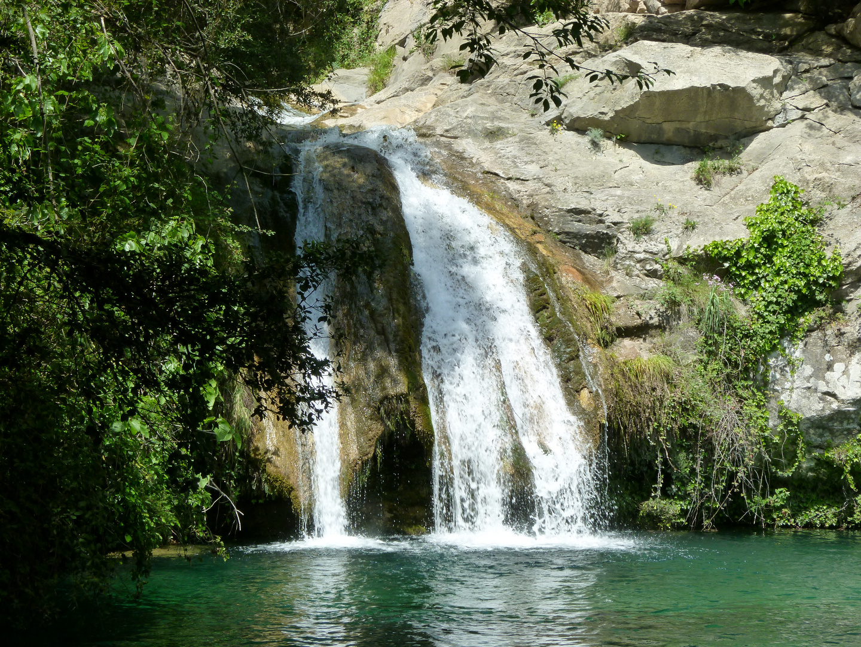 Wasserfall in den Pyrinäen