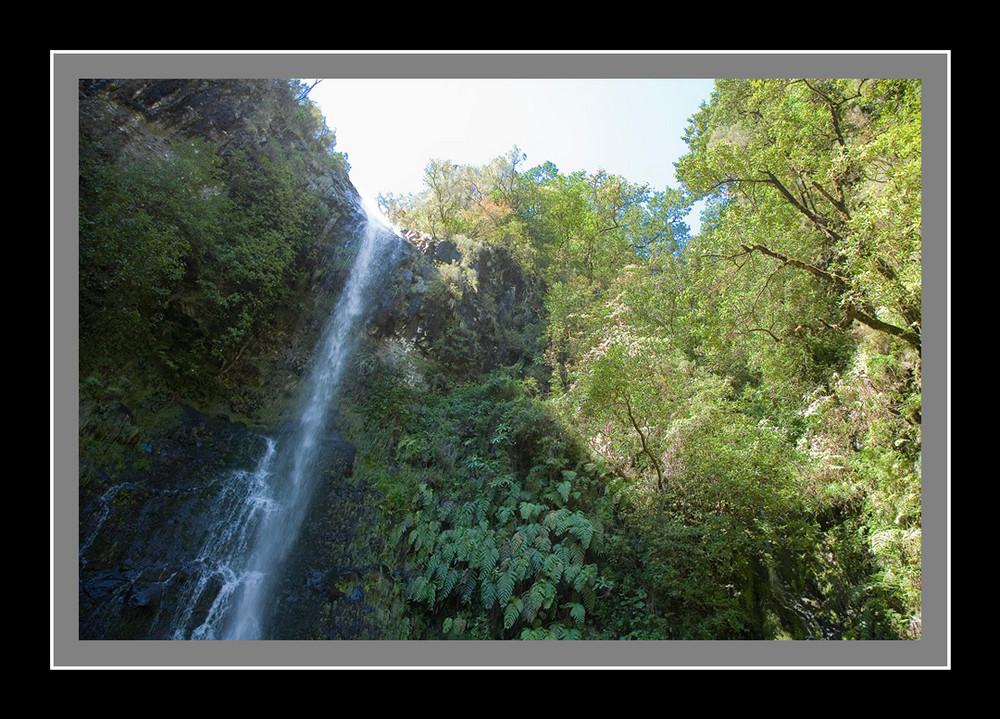 Wasserfall in den Quermadas