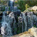 Wasserfall in der GRUGA