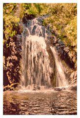 Wasserfall in der Nähe von Pattada