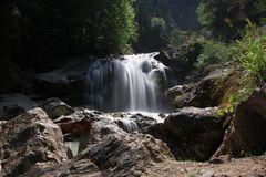 Wasserfall in der Pöllatschlucht