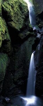 Wasserfall in der Stakholtsgja