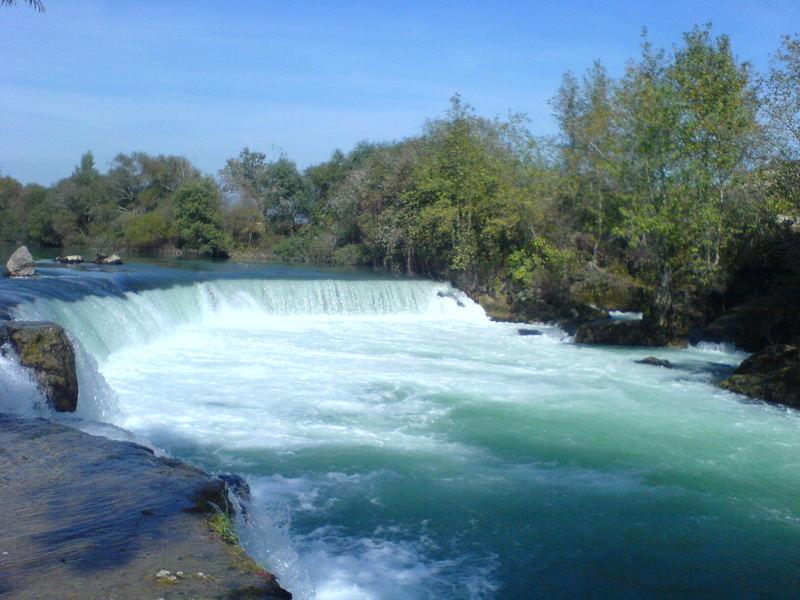 Wasserfall in der Turkei