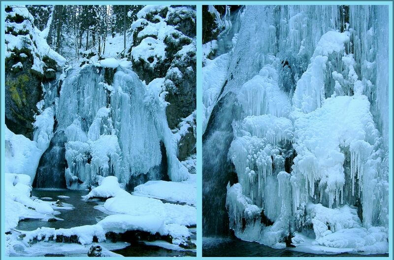 Wasserfall in Josephstal bei Schliersee Obb.
