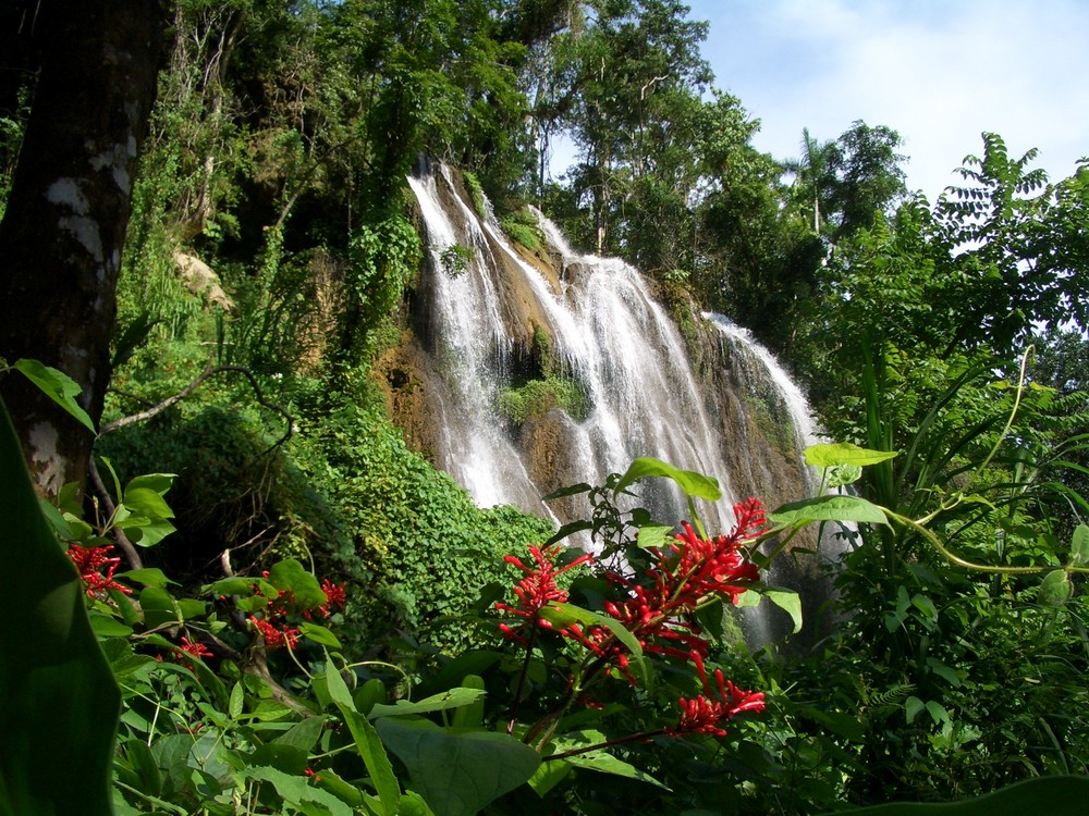 Wasserfall in Kuba