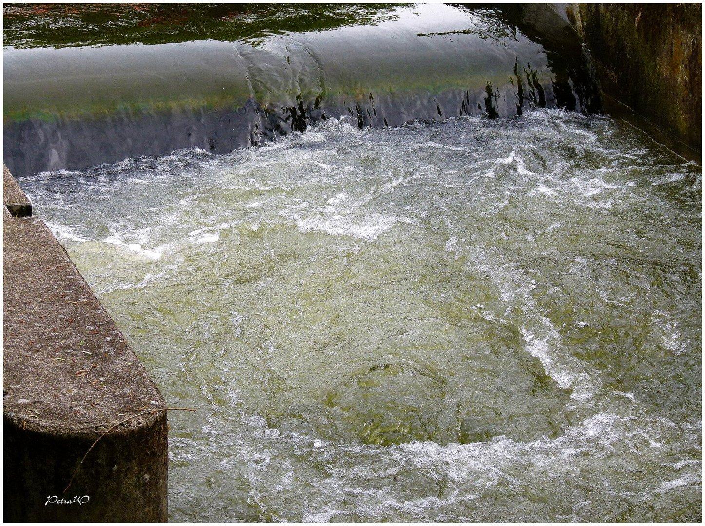 """""""Wasserfall"""" in Plön"""