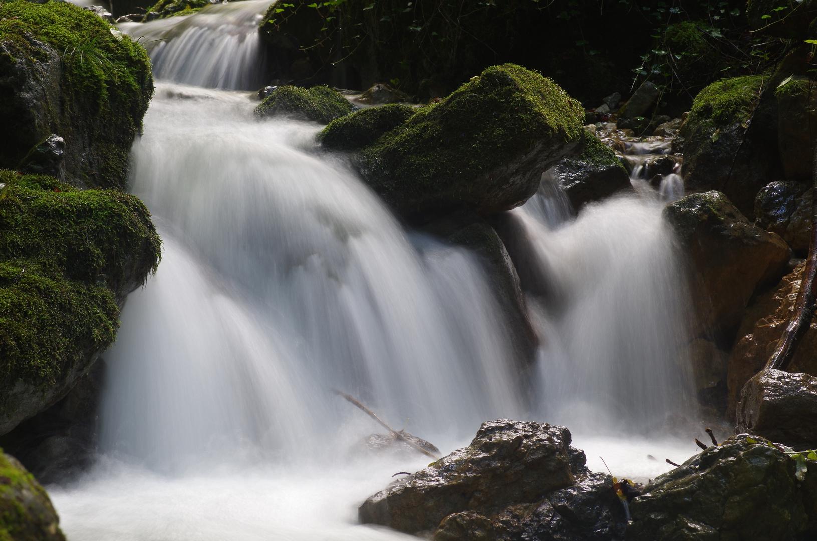 Wasserfall in Wasserfallen