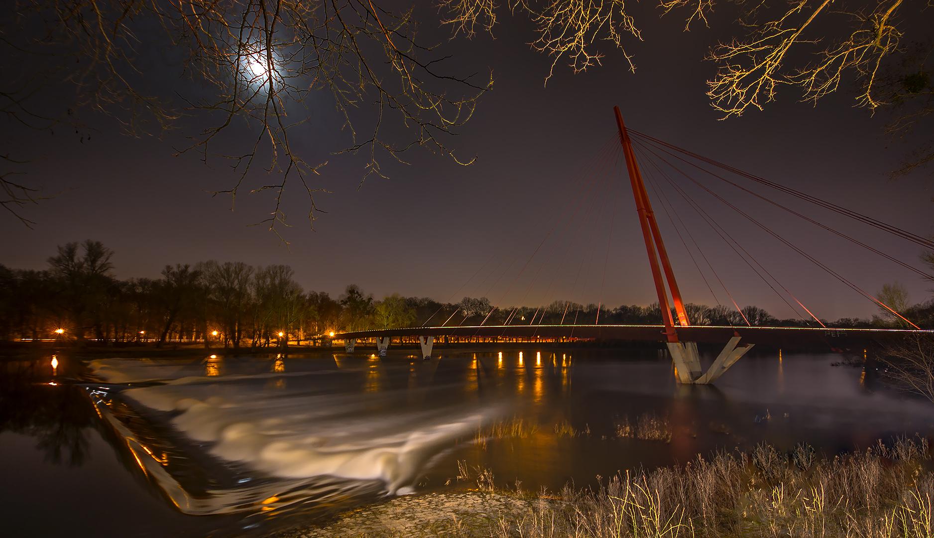 Wasserfall Mit Brücke Foto Bild Usertreffenveranstaltungen