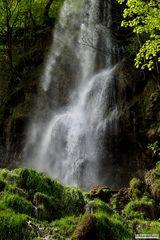 Wasserfall Nahaufnahme