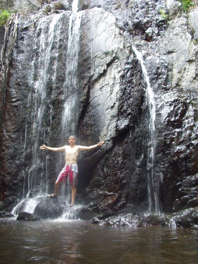 Wasserfall nahe Santu Lussurgiu (Sardinien)