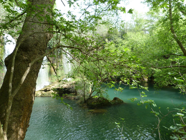 Wasserfall Naturpark Türkei
