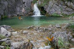 Wasserfall Olymp von Dion aus