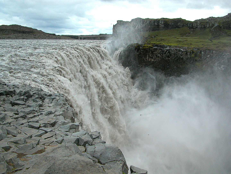 Wasserfall Selfoss, Island
