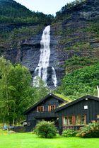 Wasserfall Skjolden