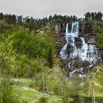 Wasserfall Tvindefossen