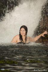 Wasserfallmassage