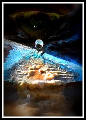 Wasserfarben- Erosionen
