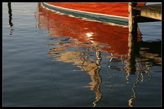 Wasserfarben im Hafen von Arnis - Watercolours in the harbour of Arnis