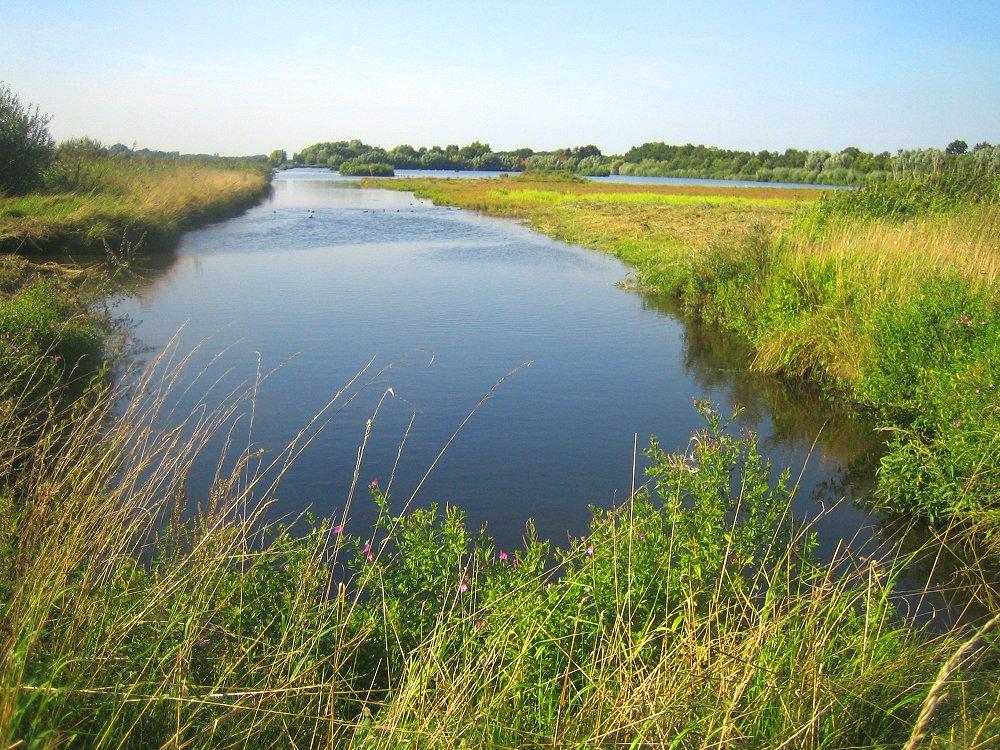 Wasserflächen im Naturpark