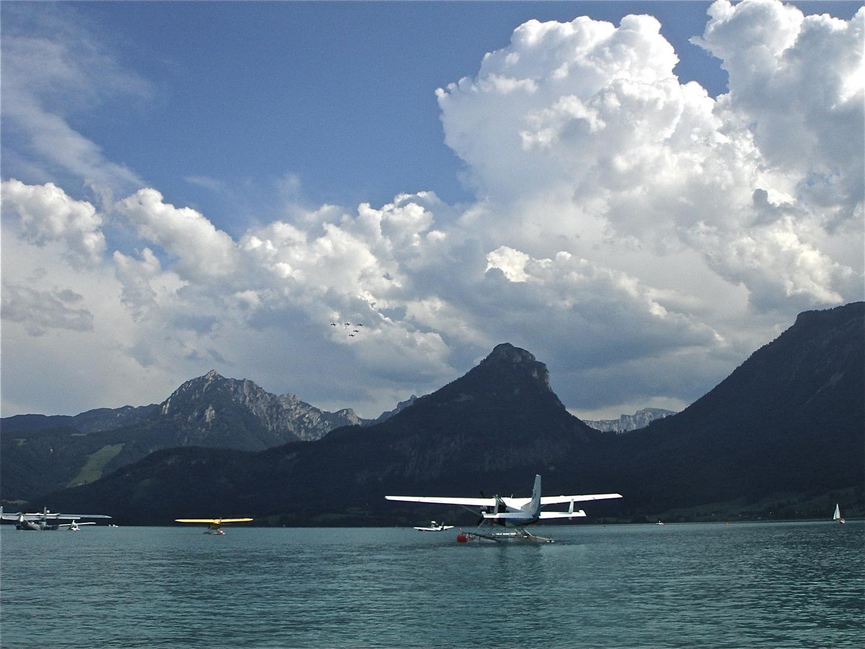 Wasserflugzeuge am Wolfgangsee
