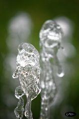 Wasserkörper beim Tanz