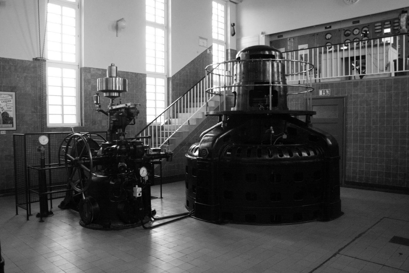 Wasserkraftwerk Oldenburg Generator