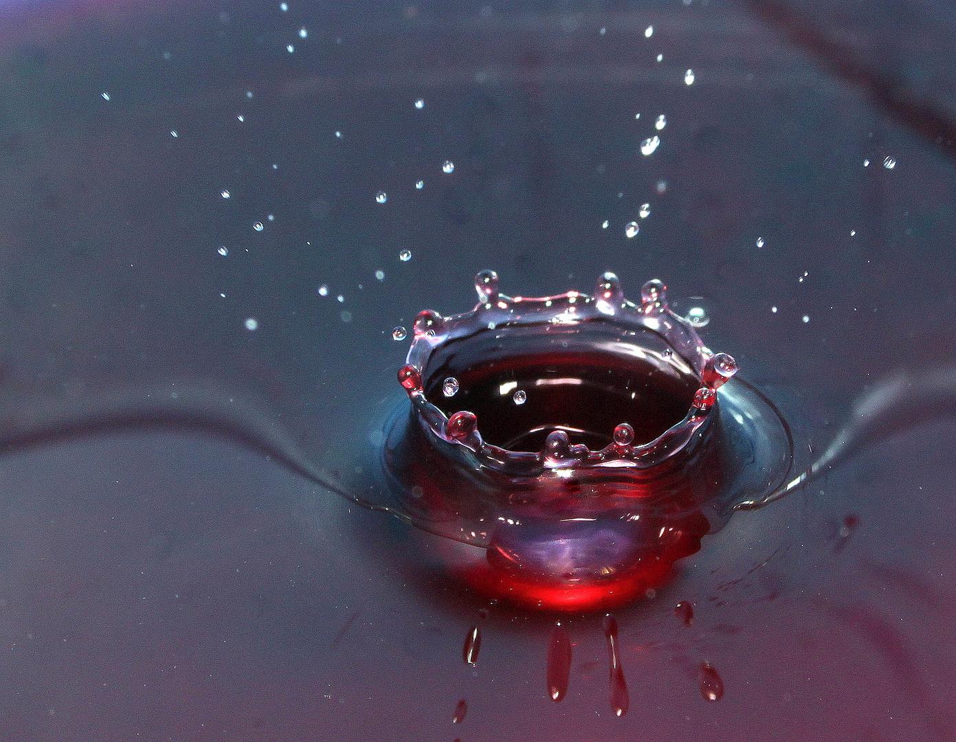 Wasserkronenvariation Nr. 2