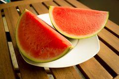 Wassermelone im Sommer