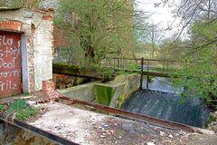 Wassermühle Saathain und gefährliche Kinderspiele ?