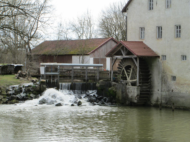 Wassermühle Zusmarshausen Wollbach 2-3