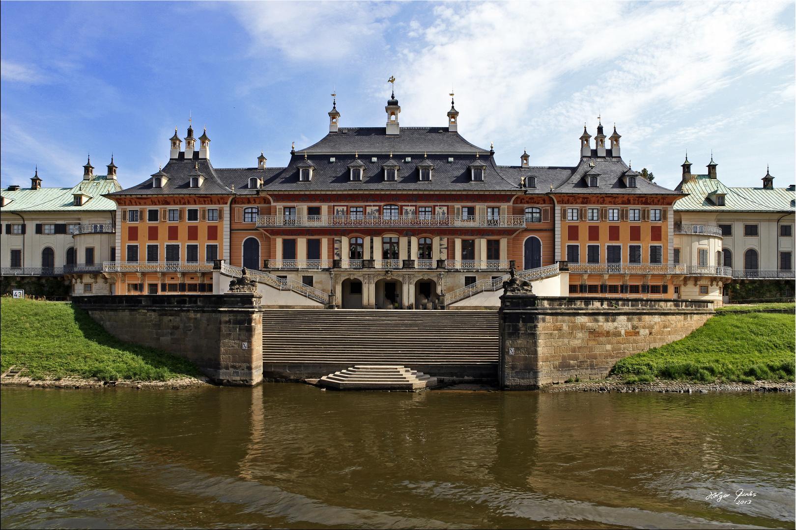 Wasserpalais Schloss Pillnitz bei Dresden