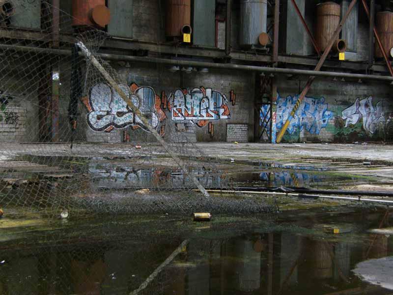 Wasserpfütze