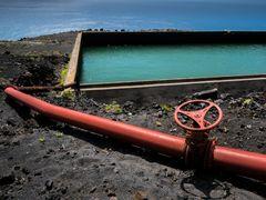 Wasserpipeline - La Palma