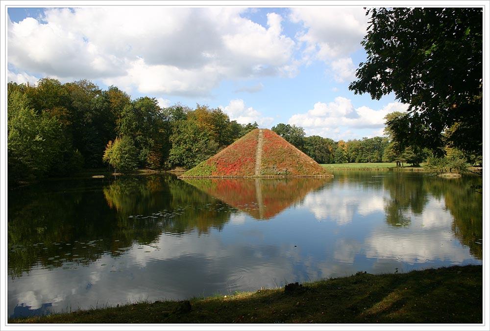 Wasserpyramide - Fürst Pückler