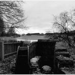 Wasserrad am Silbersee
