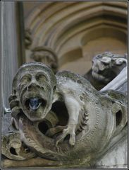Wasserrinne - Detail Westminster Abbey