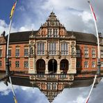 Wasserrohrbruch am Harburger Rathaus ? ...