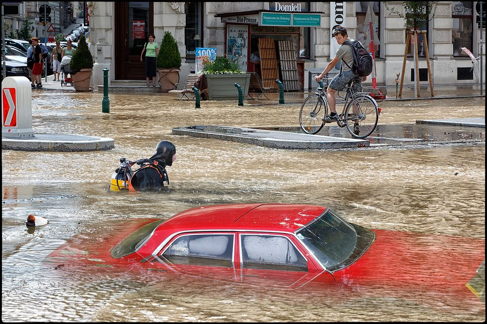 Wasserrohrbruch mit Folgen... ;o)))